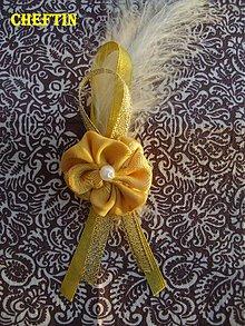 Pierka - Svadobné pierka - Absalom Gold - 2120549