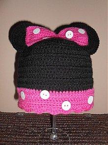 Detské čiapky - Háčkovaná čiapočka - 2122572