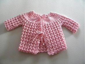 Detské oblečenie - Kabátik pre bábätko - 2129400