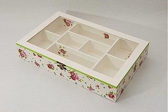 Krabičky - Romantická šperkovnica - 2132738