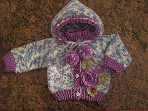 Detské oblečenie - strakata bundicka - 2133051