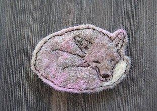 Odznaky/Brošne - Líška obecná - 2134949