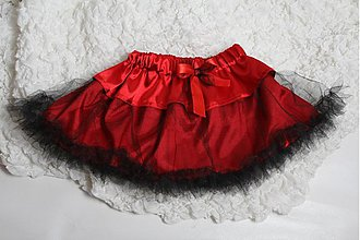 Detské oblečenie - TUTU suknička - čertica - 2136783