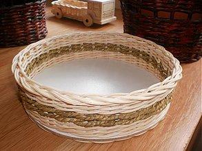 Košíky - Guľatý s elhar šnúrou - 2141291