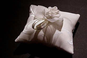 Prstene - vankúšik - 2142446