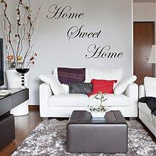 Dekorácie - Home sweet home-nálepka na stenu 3342n - 2146749