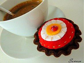 Hračky - koláčik ku kávičke - 2148544