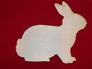 Polotovary - Zvierakta z preglejky pre spracovanie zajac - 2148977
