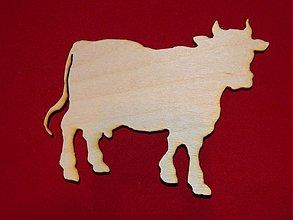 Polotovary - vyrezavane zvieratka pre ďalšie spracovanie krava - 2149009