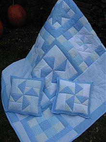 Úžitkový textil - modré z neba... - 2150116