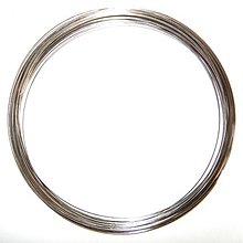 Komponenty - 0217 Pamäťový drôt náhrdelníkový, priemer 150 mm, 5 otočiek - 215137