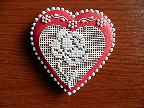 Dekorácie - Valentínsky medovník č.3 - 2154228