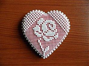 Dekorácie - Valentínsky medovník č.4 - 2154258