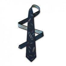 Doplnky - Hedvábná kravata (nejen) do kanceláře - 2172157