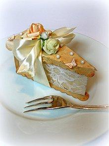 Darčeky pre svadobčanov - Sladkosť života... - 2174113