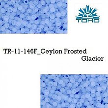 Korálky - 650-T082 TOHO rokajl 11/0 Ceylon Frosted Glacier, 10 g - 2174762