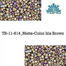 Korálky - 664-T090 TOHO rokajl 11/0 Matte-Color Iris Brown, 10 g - 2174817