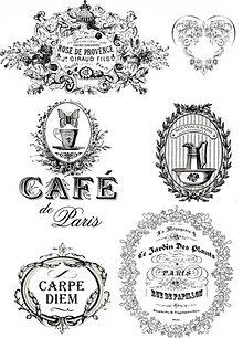 Papier - Vintage nažehlovacie etikety 2 - 2177228