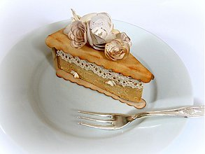 Darčeky pre svadobčanov - Babičkina tortička - 2178503