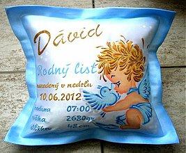 Úžitkový textil - Darček k narodeniu - 2178762