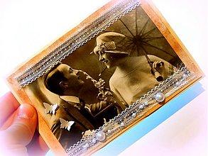 Papiernictvo - Pod dáždnikom lásky... - 2187466