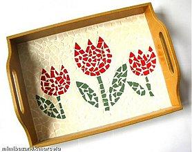 Nádoby - Tulipániková tácka - 2187535