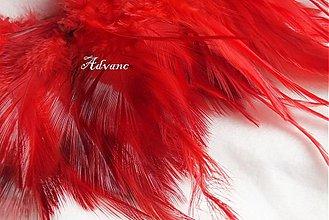 Suroviny - Kohútie jednofarebné červené R - 2190645
