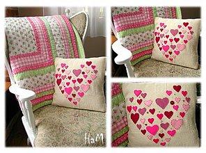 Úžitkový textil - Láska láskavá :) - 2195509