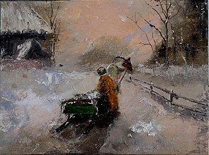 Obrazy - v zime II - 2198099