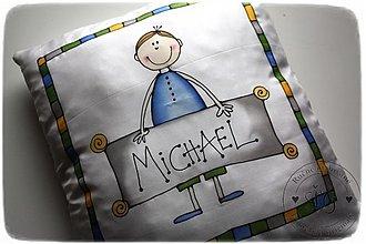 Úžitkový textil - obliečka chlapec - 2199311