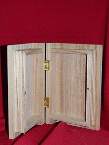 Polotovary - Krabička s venovanim ako na foto - 2204604