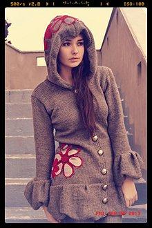 Kabáty - Kabátik sivý - 2207943
