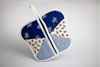 Úžitkový textil - chňapka Motýľ - 2207970