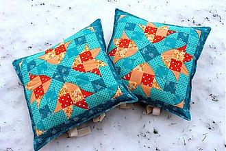 Úžitkový textil - Vankúš, Jarná nálada... - 2208888