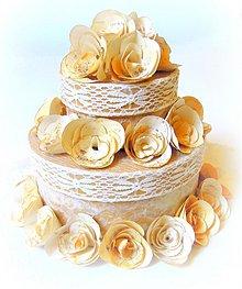 Papiernictvo - Vintage s vôňou vanilky... - 2209987