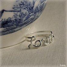 Prstene - Láska prstienková - 2215062