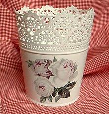 Nádoby - Kvetináč- vintage - 2215308