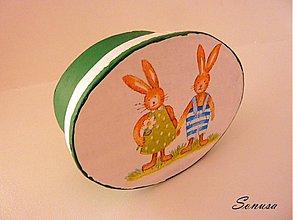 Krabičky - jarná so zajačikmi - 2218863