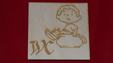 Tabuľky - Značenie dverí  WC 3 - 2219572