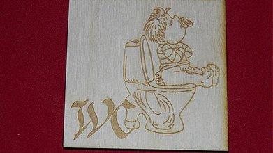 Tabuľky - Značenie dverí  WC 4 - 2219573