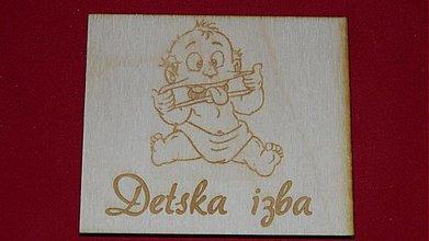 Tabuľky - Značenie dverí  Detska izba 4 - 2219615