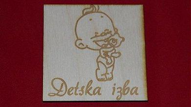 Tabuľky - Značenie dverí  Detska izba 5 - 2219627