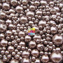 Korálky - (0039) Perly sklenené - 50 g  - 2226731