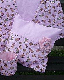 Textil - Poťah na vankúš - detský ružový - 2228317