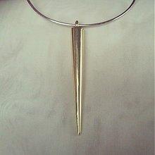 Korálky - hroty zlaté lesklé 50mm 1.50€/10ks - 2229568
