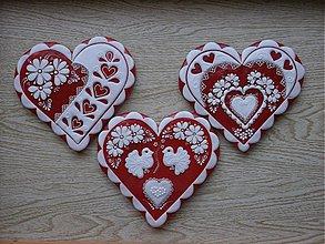 Dekorácie - Valentínske medovníčky - 2231122