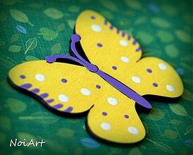 Magnetky - Motýlik - 2238323