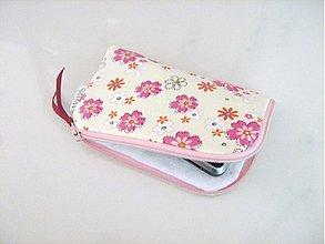 Na mobil - Květinky na vanilce - pouzdro na mobil - 2239525