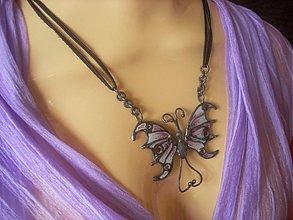 Náhrdelníky - leť motýlik leť,len mi neuleť - 2244267