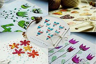 Papiernictvo - pohľadnice na želanie... - 2245752